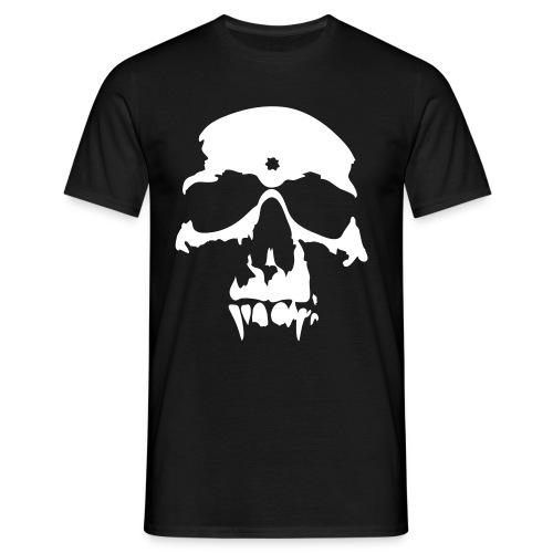 Whithe Skull - T-skjorte for menn