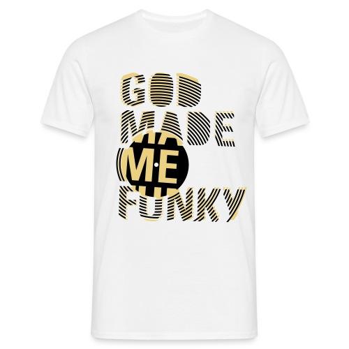 Funky - T-skjorte for menn