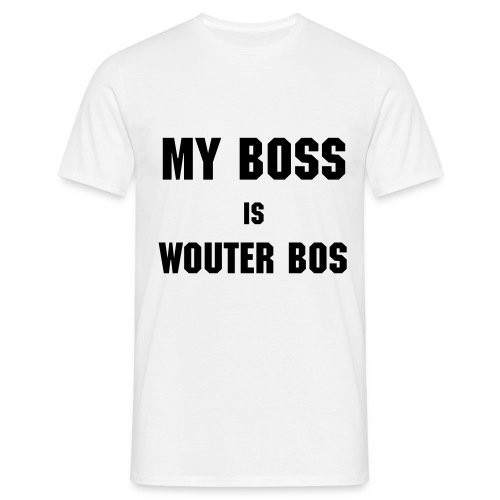 My Boss is Wouter Bos - Men's T-Shirt