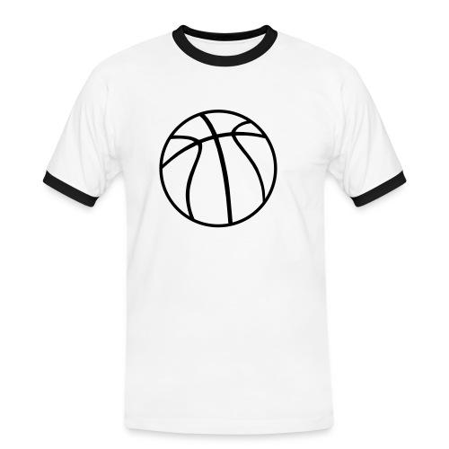 Testprodukt - Männer Kontrast-T-Shirt