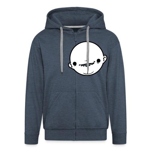 pin-head - Men's Premium Hooded Jacket