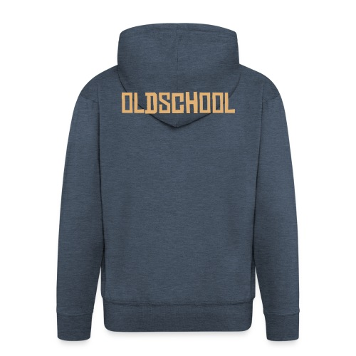 Oldschool Jacket - Men's Premium Hooded Jacket