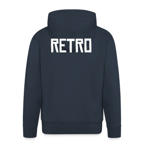 Retro Jacket - Men's Premium Hooded Jacket