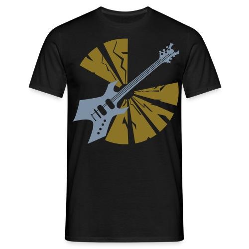 Guitar - Männer T-Shirt