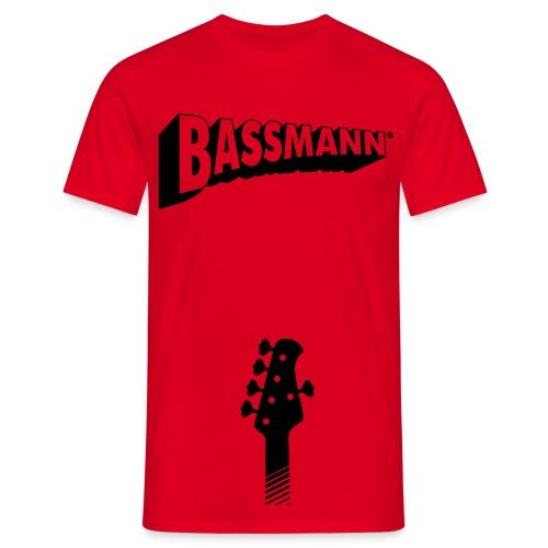 Bassmann - Männer T-Shirt