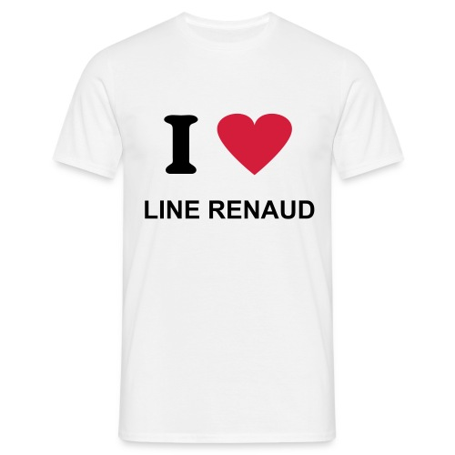 T-shirt Line Renaud - T-shirt Homme