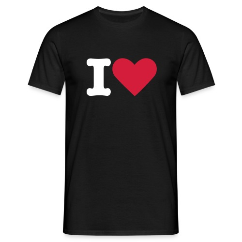 I Heart Men's T-Shirt - Men's T-Shirt