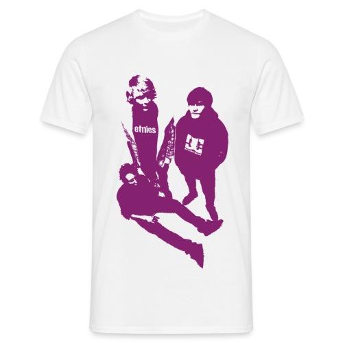 Trendsettarskjorte  - T-skjorte for menn