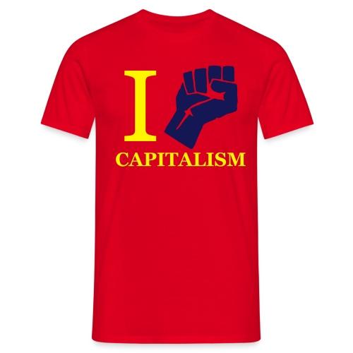 ZWALCZAM KAPITALIZM - koszulka męska - Koszulka męska