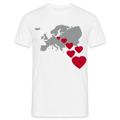 POLSKIE SERCE - koszulka męska - Koszulka męska
