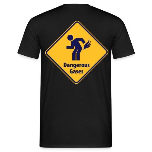 DANGEROUS GASES - Männer T-Shirt