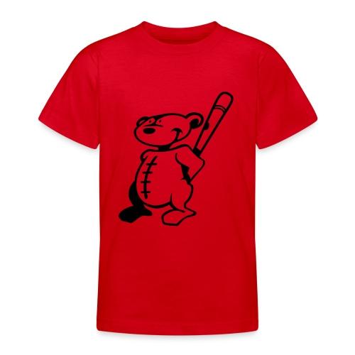 Baseball Reds - Teenage T-Shirt