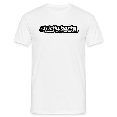 Shirt klassisch weiß - Männer T-Shirt