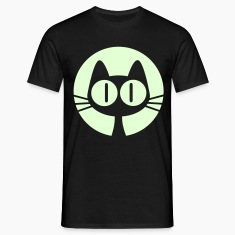 Moon Cat- Glow in the Dark- Men's Classic T-shirt