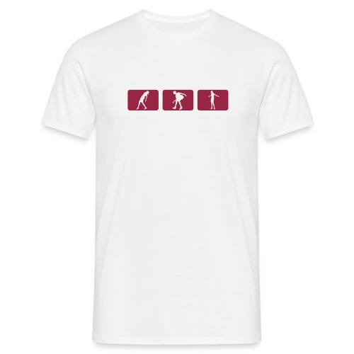 Teeshirt Blanc-R - T-shirt Homme