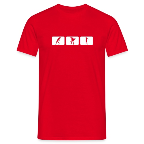 Teeshirt Rouge - T-shirt Homme