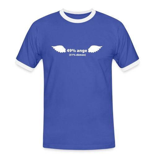 49% ANGE - T-shirt contrasté Homme