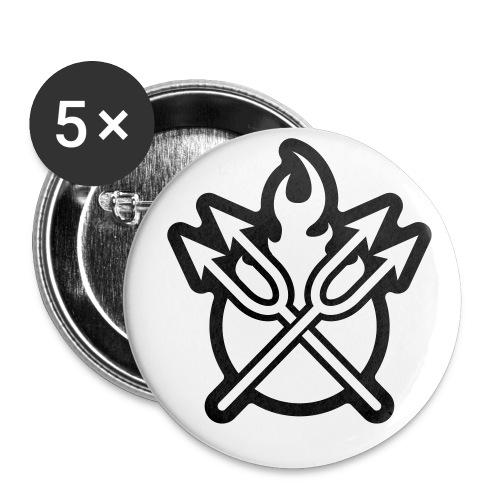 Hell Button - Buttons klein 25 mm