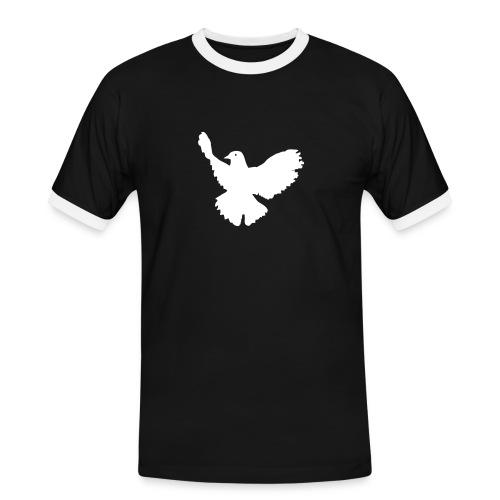 PEACE - T-shirt contrasté Homme