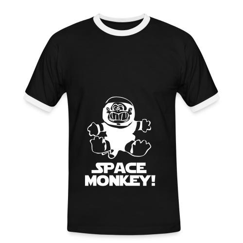 SPACE MONKEY - Men's Ringer Shirt