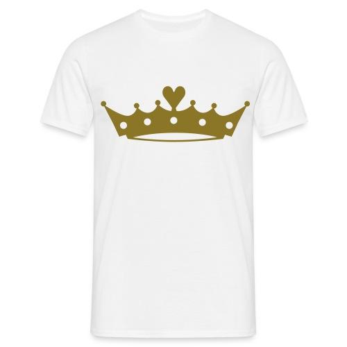 T-skjorte for Prinsesser - T-skjorte for menn