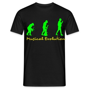 Musical Evolution - Men's T-Shirt
