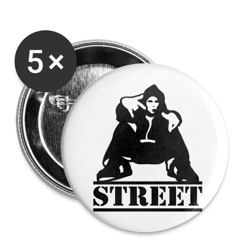 StreetButton - Buttons large 2.2''/56 mm(5-pack)