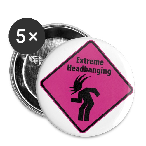 ExtremeButton - Buttons large 2.2''/56 mm(5-pack)