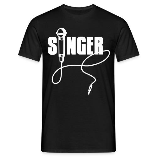 Singer - Männer T-Shirt