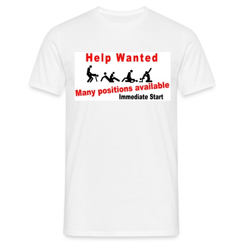 Help Wanted - Men's T-Shirt