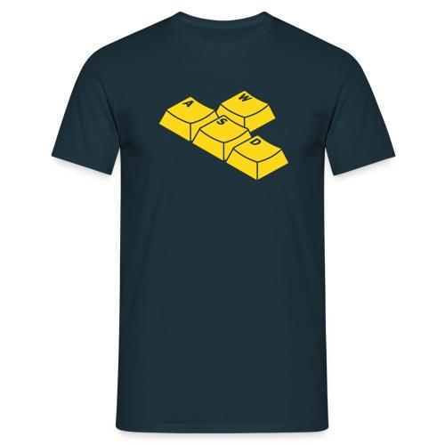 WASD - navyblau - Männer T-Shirt