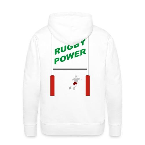Rugby - Sweat-shirt à capuche Premium pour hommes