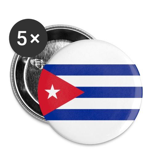 Sticker Cuba - Flag - Buttons medium 32 mm