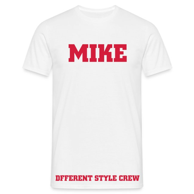 TEE SHIRT MIKE DIFFERENT STYLE