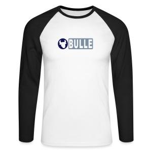 Baseballshirt Bulle - Männer Baseballshirt langarm