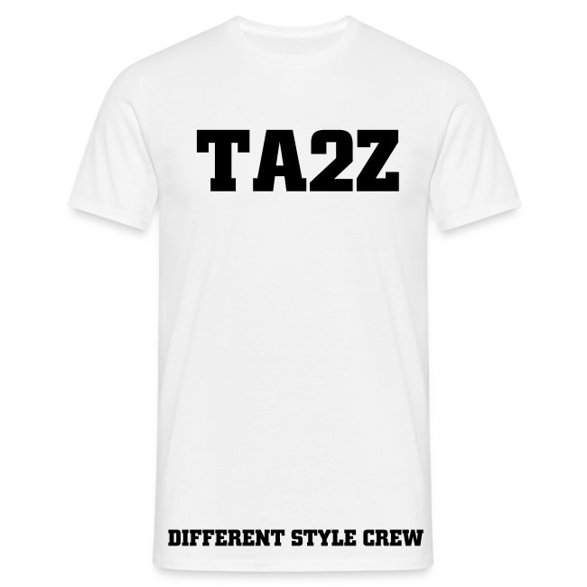 TEE SHIRT TAZZ DIFFERENT STYLE