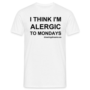 Alergic to mondays (Chico) - Camiseta hombre
