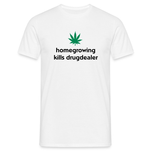 Homegrowing - Männer T-Shirt