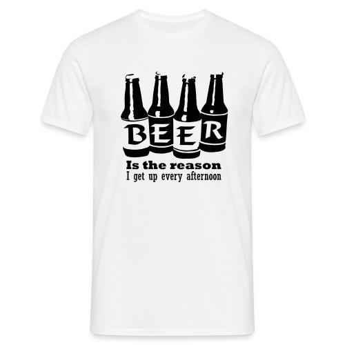 tee shirt basique homme beer 2 - T-shirt Homme