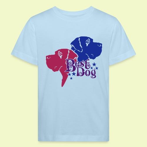 BEST DOG  - Kinder Bio-T-Shirt