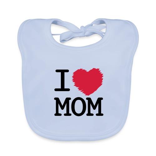 I Love MOM - Baby Bio-Lätzchen