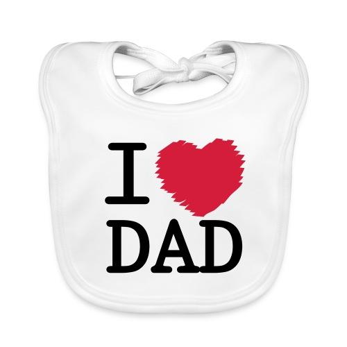 I Love DAD - Baby Bio-Lätzchen
