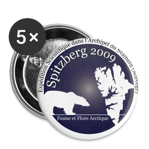 badge Spitzberg 2009 - Badge petit 25 mm