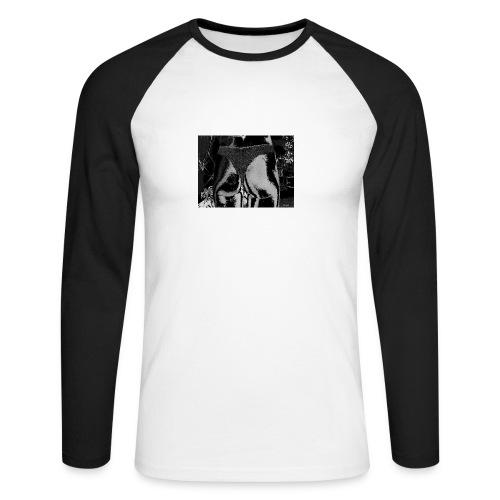 ass infront - Männer Baseballshirt langarm