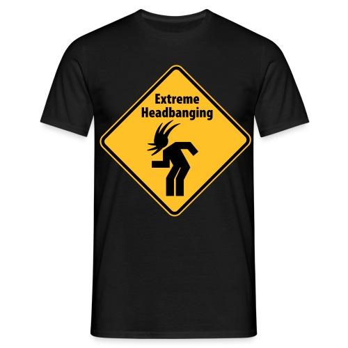 Extreme Headbanging - Men's T-Shirt
