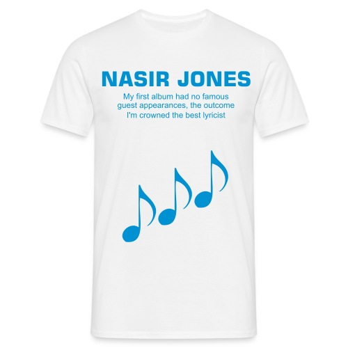 Nas Music T shirt - Men's T-Shirt