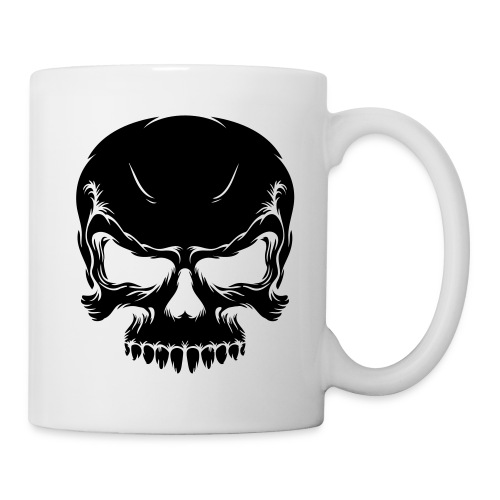 Totenkopftasse - Tasse