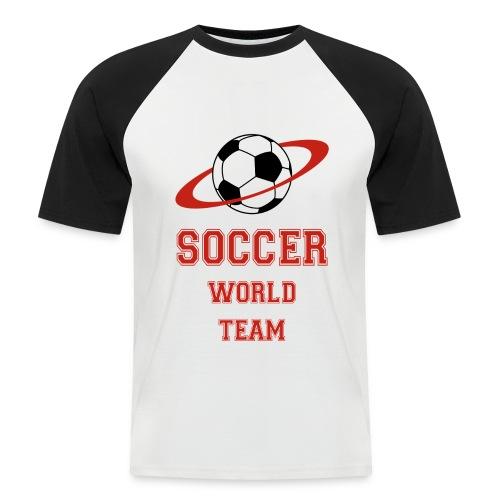 soccer - Men's Baseball T-Shirt