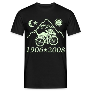 Albert Hofmann (Glow in the dark) - Männer T-Shirt