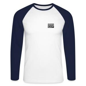 Good guy - Männer Baseballshirt langarm